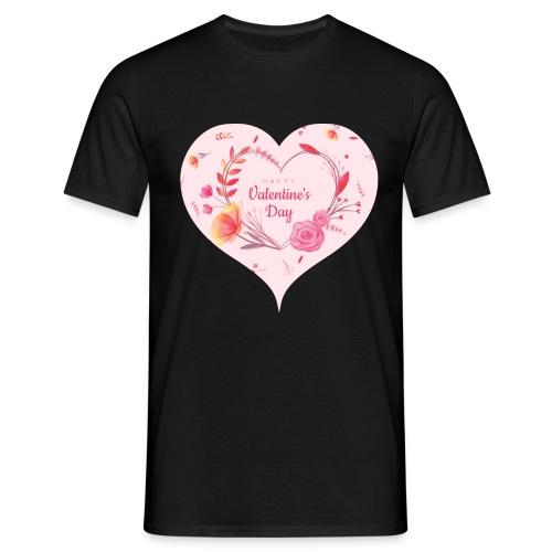 Happy Valentinesday - Männer T-Shirt