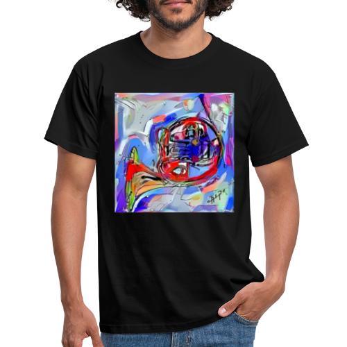 cornoarte1 - Mannen T-shirt