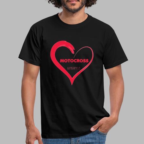Motocross - T-shirt herr