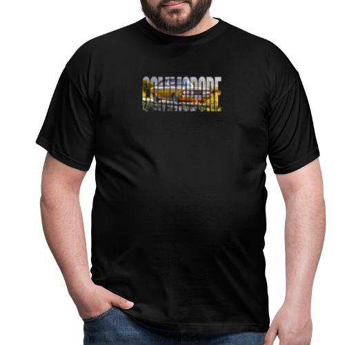 rekord commo word design - Mannen T-shirt