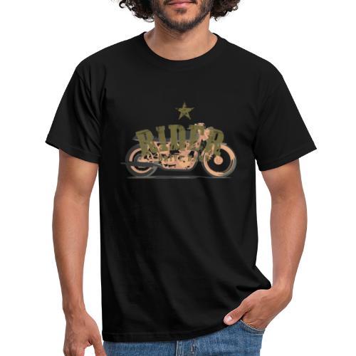 RIDER MOTO - Camiseta hombre