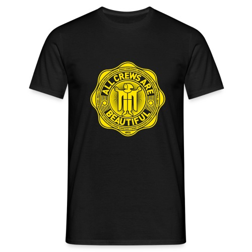 All Crews Are Beautiful (YellowBig) - Männer T-Shirt