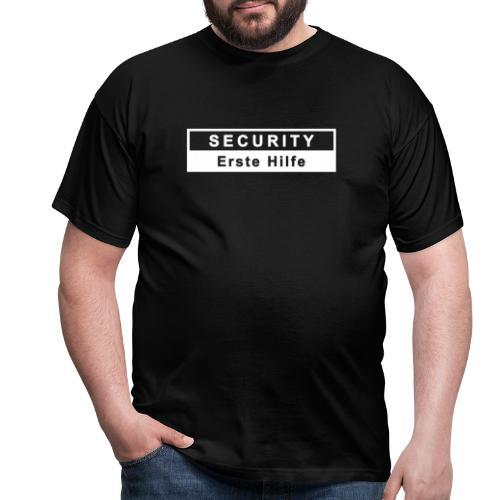 Security & Erste Hilfe, weiss - Männer T-Shirt
