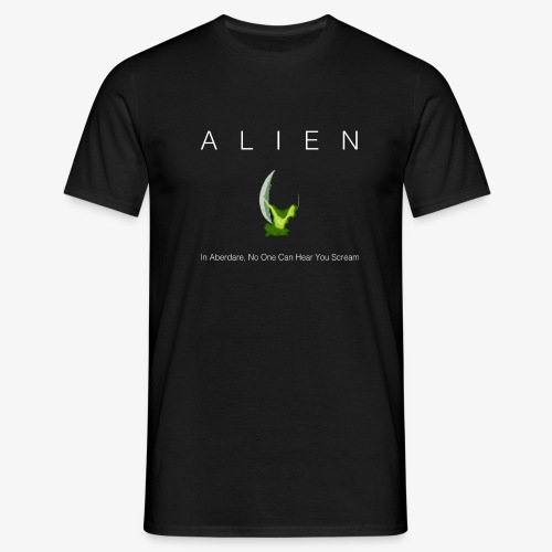 Aberdare alien - Men's T-Shirt