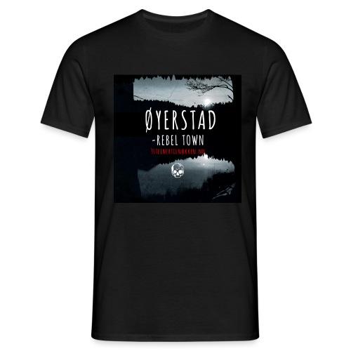 Øyerstad - opprørsby - T-skjorte for menn