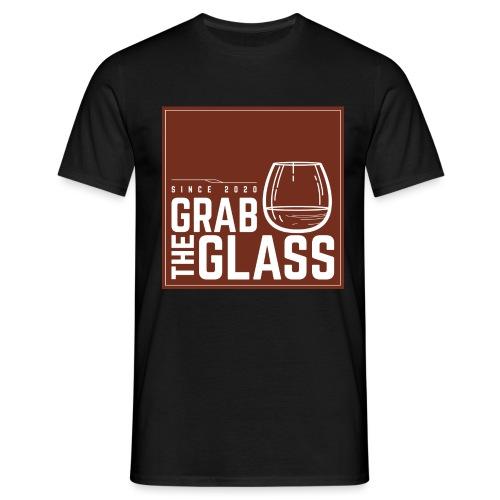 Grabtheglass LOGO - Männer T-Shirt