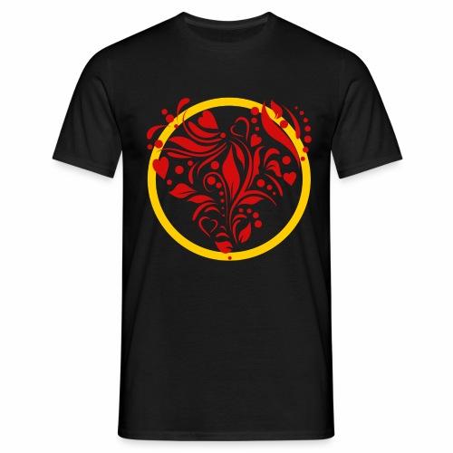 Herzemblem - Männer T-Shirt