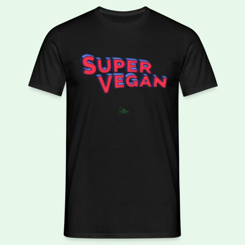 Super Vegan - T-shirt herr