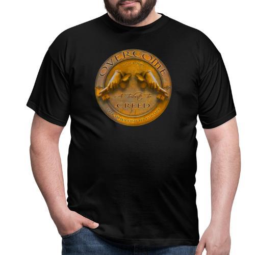 Overcome Rund - Männer T-Shirt