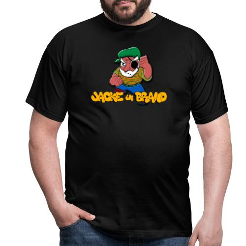 Jacke in Brand - Männer T-Shirt