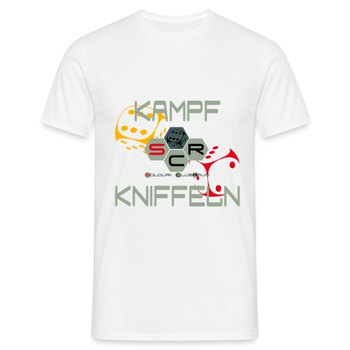 Kampfkniffeln png - Männer T-Shirt
