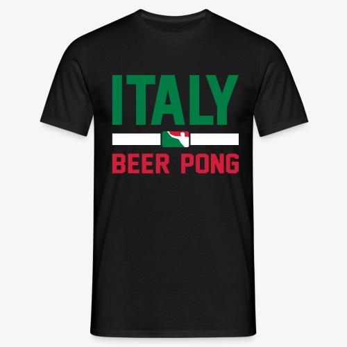 Italy Beer Pong - Männer T-Shirt