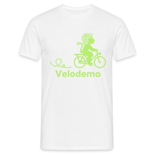 Züri-Leu mit Text - Männer T-Shirt