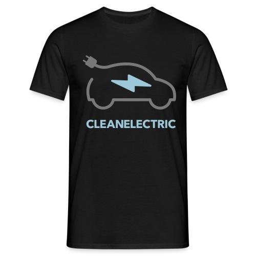 CLEANELECTRIC Logo - Männer T-Shirt