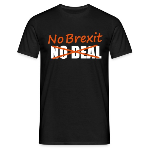 No Brexit - Men's T-Shirt