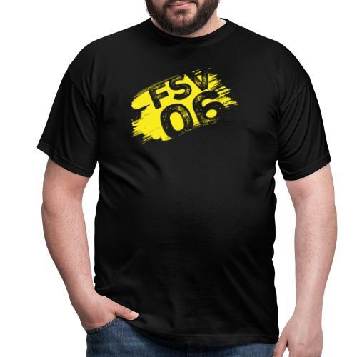 Hildburghausen FSV 06 Graffiti gelb - Männer T-Shirt