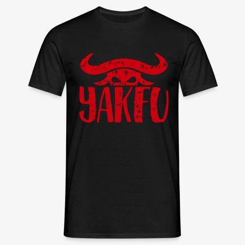 YakFu (Red) - Männer T-Shirt