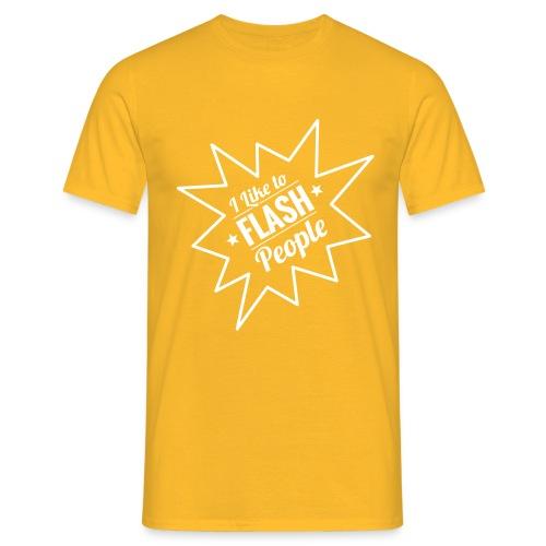 Flash People - Men's T-Shirt