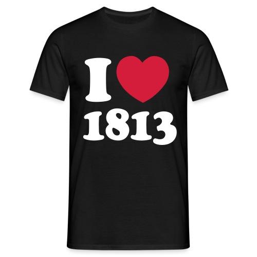 i love 1813 - Männer T-Shirt