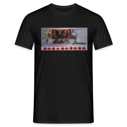 winter peple - Men's T-Shirt
