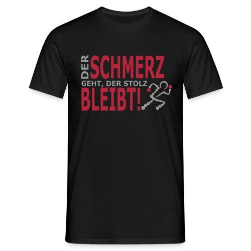 schmerz - Männer T-Shirt