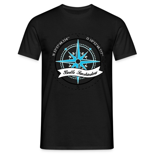Beetle Sunshinetour AUf dem Linken arm NBC - Männer T-Shirt
