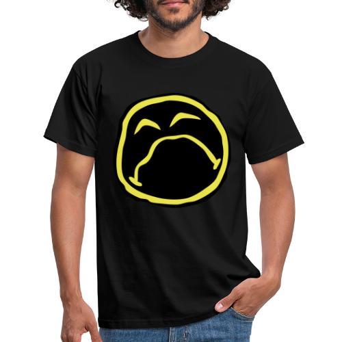 Droef Emoticon - Mannen T-shirt