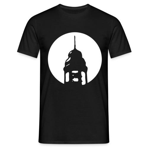 Logo invertiert - Männer T-Shirt