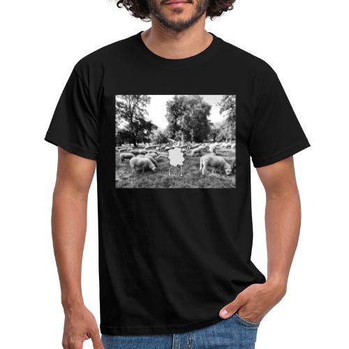 raar schaap2 - Mannen T-shirt