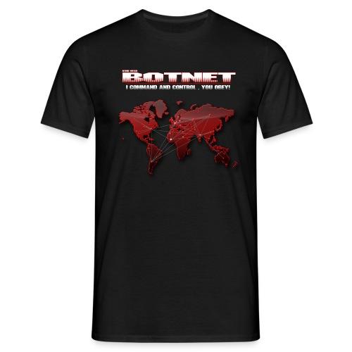 Botnet - Command and Control - Männer T-Shirt