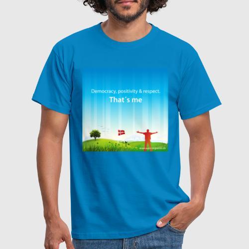Rolling hills tshirt - Herre-T-shirt