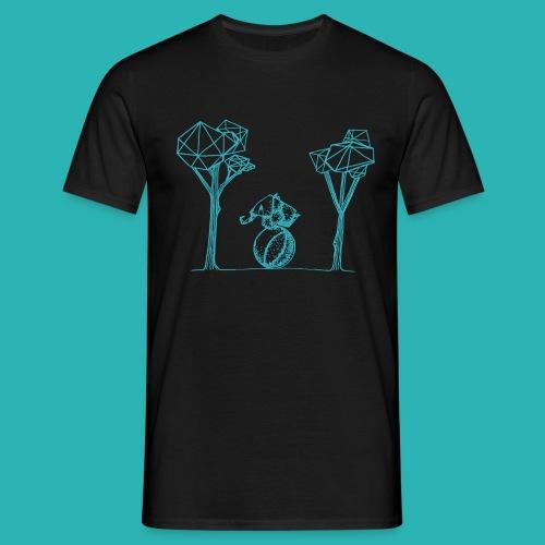 Rotolare_o_capitombolare_lightblu-png - Maglietta da uomo