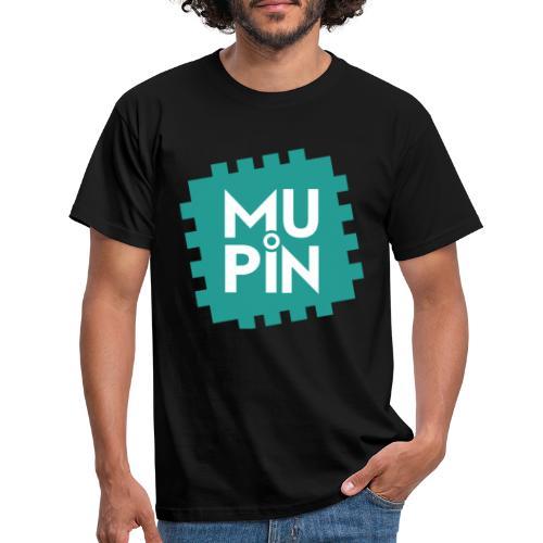 Logo Mupin quadrato - Maglietta da uomo