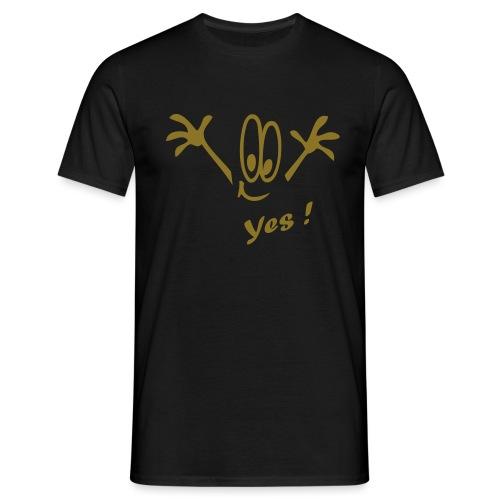 Yes ! Comic - Männer T-Shirt
