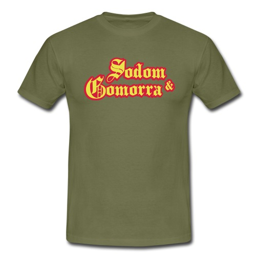 Sodom and Gomorra - Mannen T-shirt