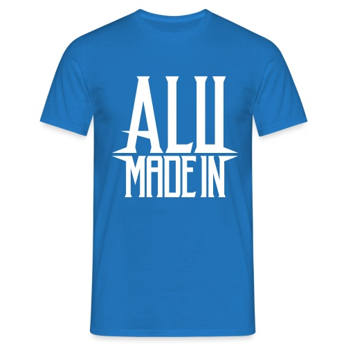 logo_alumadein_vecto_blan - T-shirt Homme