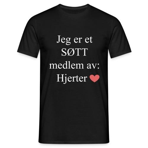 SØTT Medlem - T-skjorte for menn