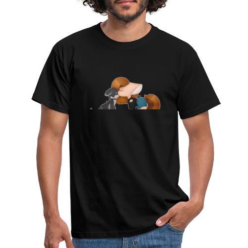 Fursona and Teddy - Men's T-Shirt