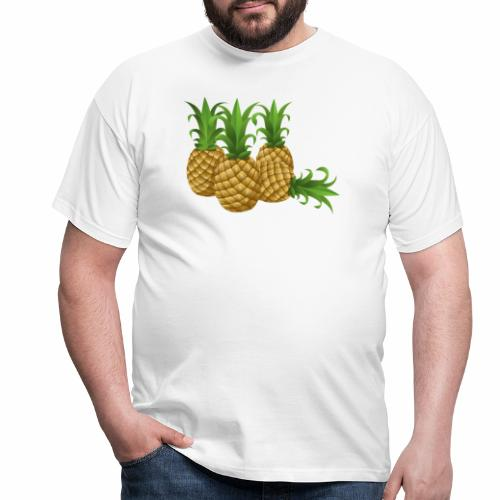 Ananas - Männer T-Shirt