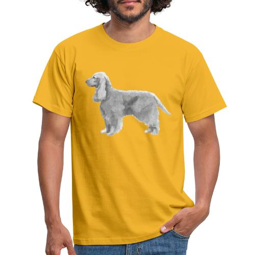 English cocker spaniel golden - Herre-T-shirt