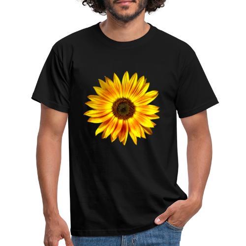 Sonnenblume gelb Sommer - Männer T-Shirt