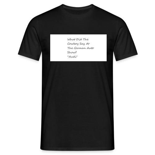 Car Joke - Men's T-Shirt