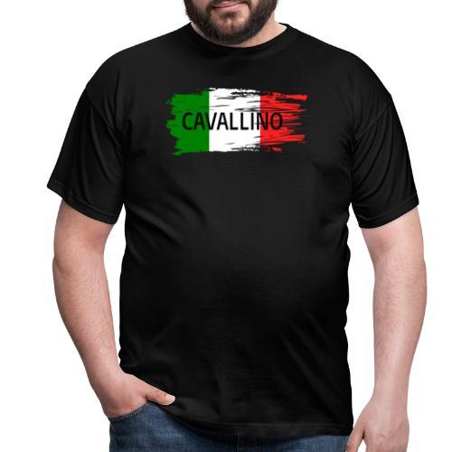 Cavallino auf Flagge - Männer T-Shirt