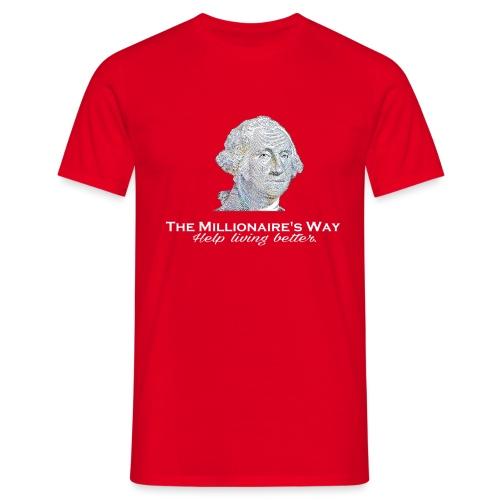 Il nostro logo in bianco - Maglietta da uomo
