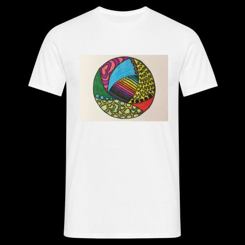 circle corlor - Herre-T-shirt