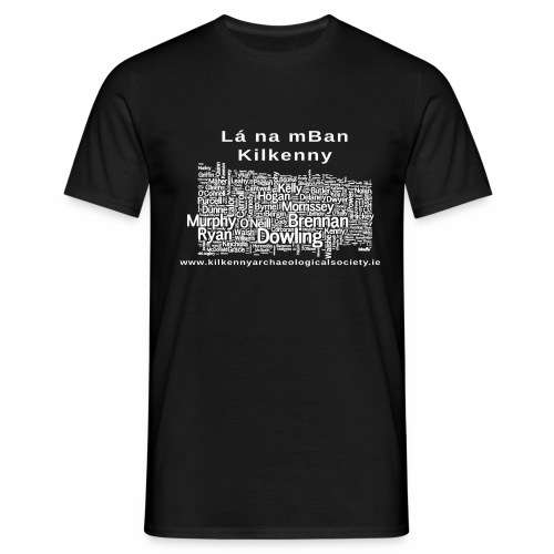 Lá na mban Kilkenny white - Men's T-Shirt