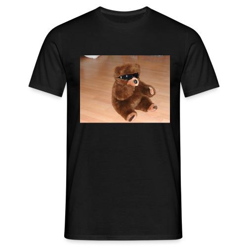 Bär Umbrellastyle - Männer T-Shirt