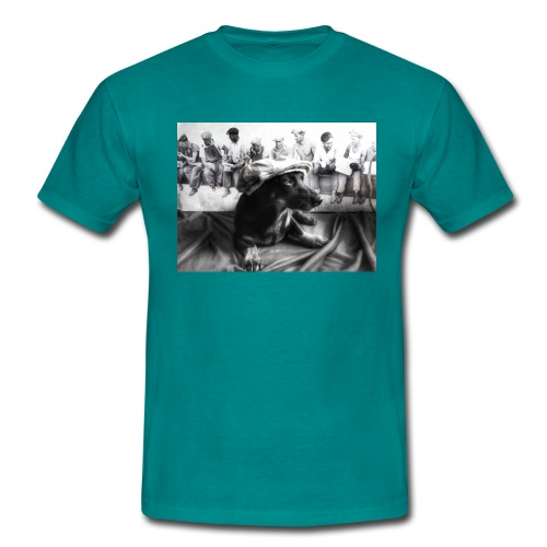 Sky Dog 2 - Männer T-Shirt