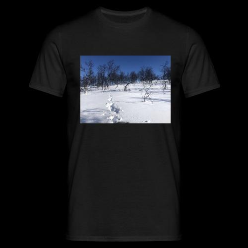 Fin natur - T-skjorte for menn