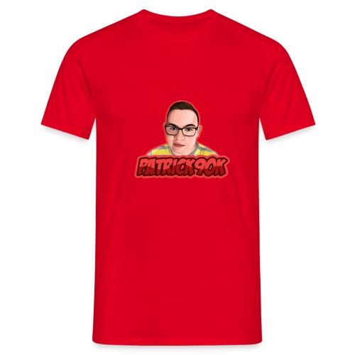 p90k Logo - Männer T-Shirt